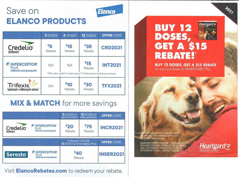 Buy 12 Doses & geta $15 Rebate Offer at Bluestar Pet Hospital & Grooming Coupon
